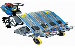 4 Row Paddy Transplanter by Kisankraft  Limited
