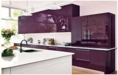 Acrylic Gloss Kitchen by Rethin Interior Decorator
