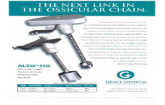 ALTO Adjustable Length Titanium Ossicular Prosthesis by BVM Meditech Private Limited