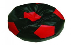 Football Shaped Bean Bag by Trendz Interiorz