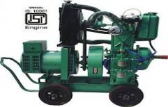 Gas Single Cylinder Genset by Kalyan Engineering Works