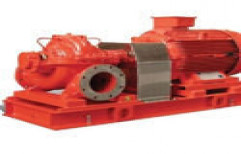Horizontal Split Case Electric Drive Fire Pump by DT Engineering Solutions