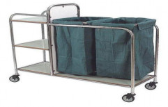 Soiled Linen Trolley by Surgical Hub