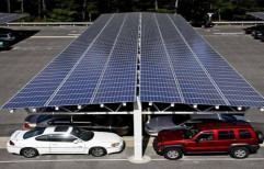 Solar Panel Parking Structure by JP Solar