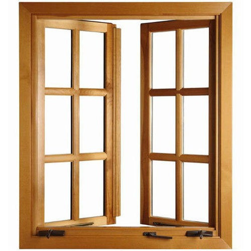 Wood Windows by Shri Shakumbhari Furniture & Interiors