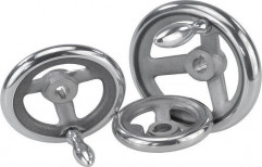 """Aluminum Hand Wheel 4"""" 1 by Taj Trading Company"""