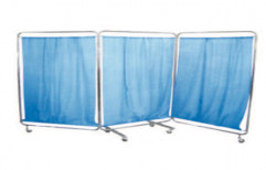 Bed Side Screen ( 4 Pannels ) by Surgical Hub