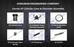 Carrier 5F Cylinder Liner & Unloader Assembly by Dhruman Engineering Company