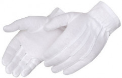 Cotton Hosiery Gloves by Aristos Infratech