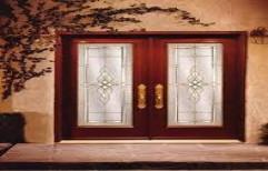 Designer Main Door by Sharma Aluminum & Furniture