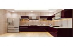 Designer Modular Kitchen by Anoop Plywood Agency