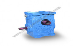 Hollow Shaft Worm Reduction Gearbox by Micro Precision Works