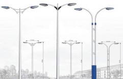 MS Tubular Street Light Pole by A.P. Technologies