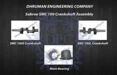 Sabroe SMC 100 Crankshaft Assembly by Dhruman Engineering Company
