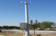 Security Camera Pole by A.P. Technologies