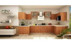 Wooden Modular Kitchen by R K Interior