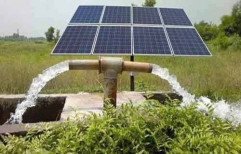 3HP Solar Water Pump by Nature Chhaya Group
