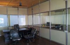 Aluminum Office Partition by Sharma Aluminum & Furniture