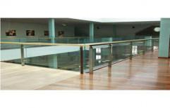 Glass Railing by Kuchchal International