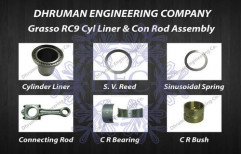 Grasso RC9 Cylinder Liner & Connecting Rod Assembly by Dhruman Engineering Company