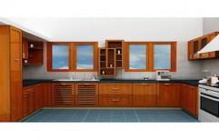 High Gloss Modular Kitchen by Touchwood Interior