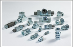 Hydraulic Fittings with Weldable Nipples by Taj Trading Company