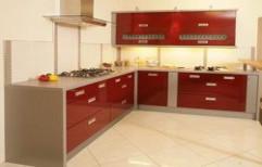 L Shaped Modular Kitchen by Thomas Modular Kitchen