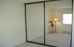 Mirror Door Wardrobe by S. Mohan Agency