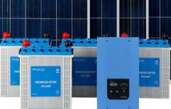 Off-Grid Solar Rooftop by J.P.Enterprises