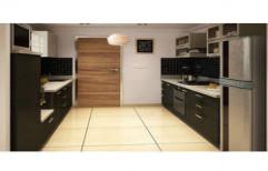 Parallel Modular Kitchen by Touchwood Interior