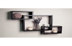 Wooden Wall Shelves by BR Kitchens