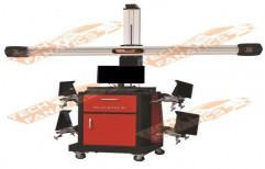 3D Wheel Alignment Machine by Tech Fanatics Garage Equipments Private Limited