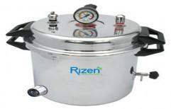 Aluminum Electric Dental Autoclave by Rizen Healthcare