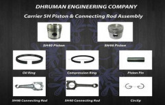 Carrier 5H Piston and Connecting Rod Assembly by Dhruman Engineering Company