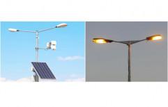 Double Arm Solar Street Light by Sunshine Power Systems