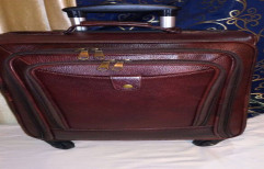 Premium Quality Genuine Leather Suitcases/ Trolleybags 7000 by Jain Leather Agencies