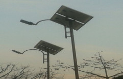 Solar Street light pole by High Mast India Progresive
