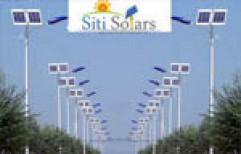 Solar Street Lighting system by Siti Solars India Private Limited