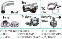 SS Dairy Pipe Fittings & Pharma Fittings by X- Team Equipments Private Limited