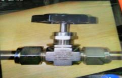 SS Needle Valves OD Fitting 1/4 by Taj Trading Company