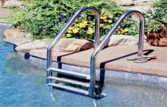 Stainless Steel Pool Ladder by Vardhman Chemi - Sol Industries