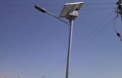 Tubular Solar Street Light Pole by A.P. Technologies