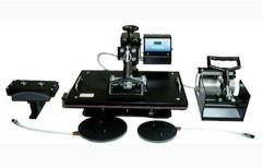5 In 1 Heat Press Machine by Al Noor Electronics