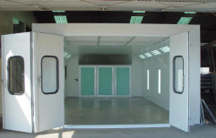 Car Paint Booth by Tech Fanatics Garage Equipments Private Limited