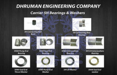 Carrier 5H Bearing and Washer by Dhruman Engineering Company
