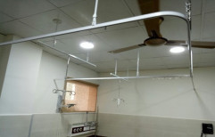 Curtain Tracks with IV Hangers by Gupta Medi Equip. Co.
