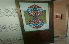 Designer Glass Door by Sharma Aluminum & Furniture