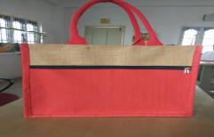 Designer Jute Shopping Bag by Sakhyata Social Enterprises