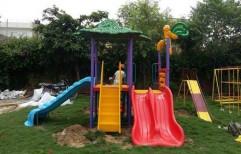 FRP Playground Slides by Vardhman Chemi - Sol Industries