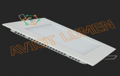 LED Panel Light Square, 9W by Aviot Smart Automation Private Limited